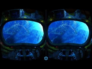 Virtual Reality. Mission Leviathan 3D VR SBS