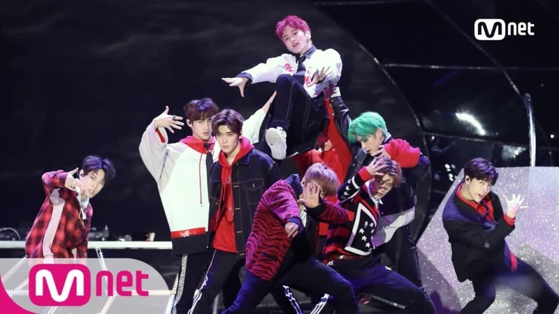 [2017 MAMA in Hong Kong] Hitchhiker/NCT 127_11/ The 7th Sense - Reverse Cherry Bomb