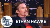 Ethan Hawke Has a Punk Rock View of Awards Thanks to Patti Smith