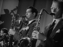 Glenn Miller with Tex Beneke and Al Klink on Saxes and Billy May on Trumpet