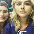 Chloe Grace Moretz on Instagram Kat and chlo go to hockey #game4 LETS GO BOYS @ny_islanders @kathryngallagher