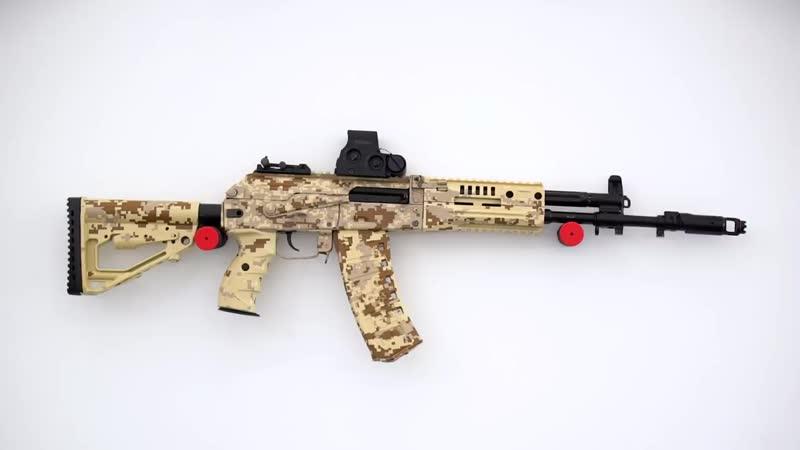Длинноствольное огнестрельное оружие Концерна «Калашников»