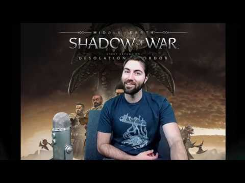 Desolation of Mordor, Grapple Hook and Kite, Augments, and more Combat Gameplay