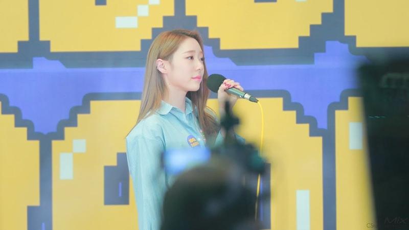 [Fancam] 181120 IU 'Ending Scene' COVER by YEONJUNG(WJSN) on Idol Radio @ Yeonjung