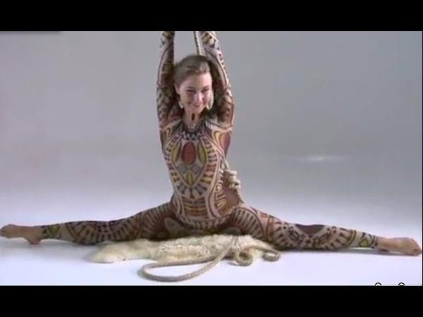 Super sexy flexible gymnastic girl | sexite yoga | 2018