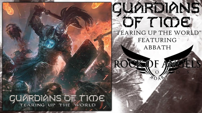 GUARDIANS OF TIME - Tearing Up The World Feat. Abbath (Official Lyric Video)