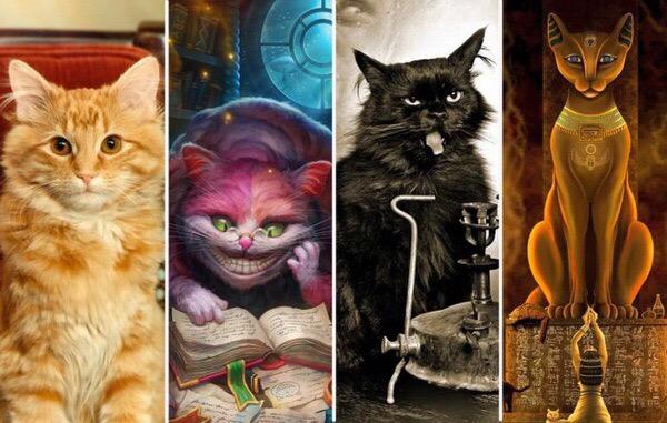 Как появились самые известные литературные коты  милые и не очень