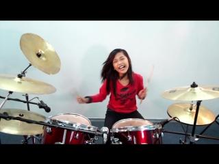 Europe - The Final Countdown - Drum Cover by Нур Амира Сейхира