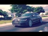 Audi S6 _ Vossen 22 CVT Directional Wheels _ Rims