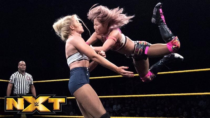 Kairi Sane vs. Lacey Evans: WWE NXT, June 6, 2018