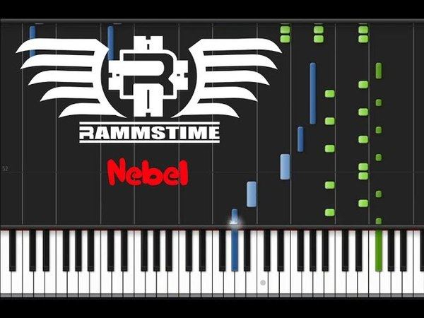 Rammstein - Nebel (♫) (Instrumental Synthesia)