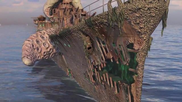 タコ Дневники разработчиков: Ужас глубин   World of Warships