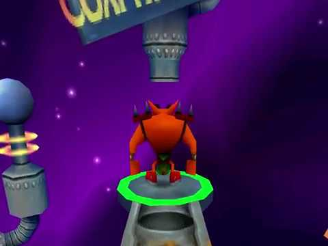 Crash Bash - Gem 16 - Sky Balls