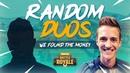 Random Duos - We Found The Money! - Fortnite Battle Royale Gameplay - Ninja