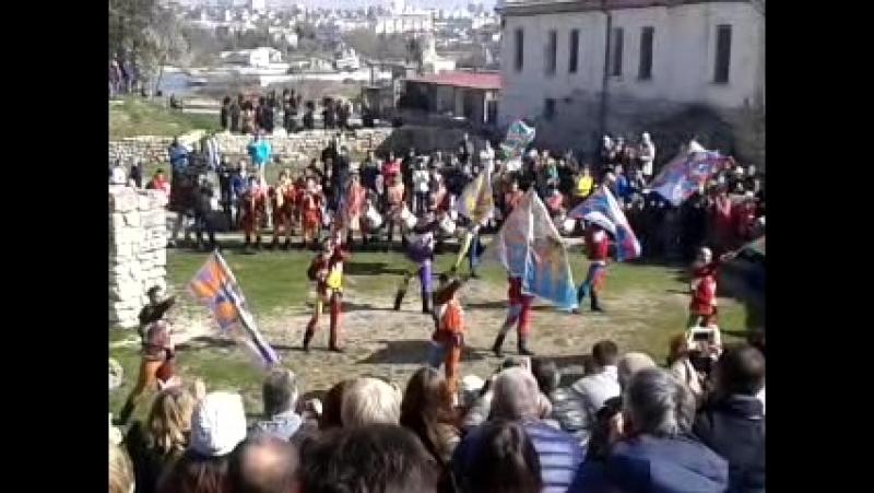 Флагоносцы из Сансеполькро, Тоскана.
