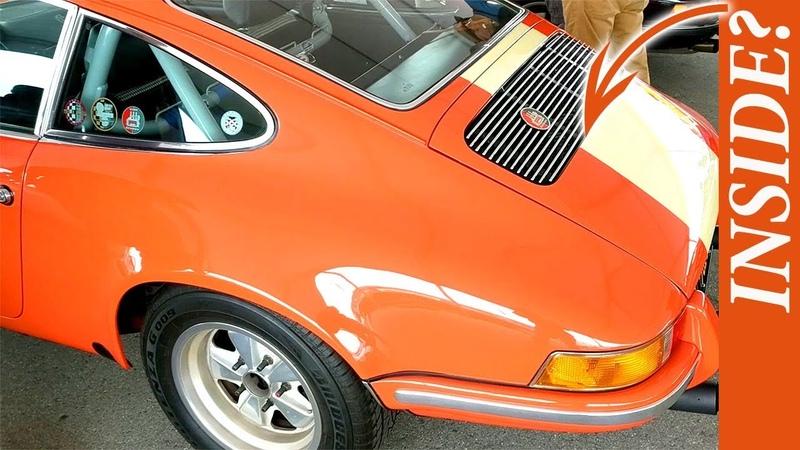 Rennsport Reunion VI In Depth Porsche 911R Gruppe Car Interview