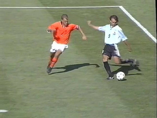 Argentina v Netherlands World Cup QF 1998