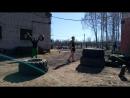 Россфит тренировки на стадионе Гайва