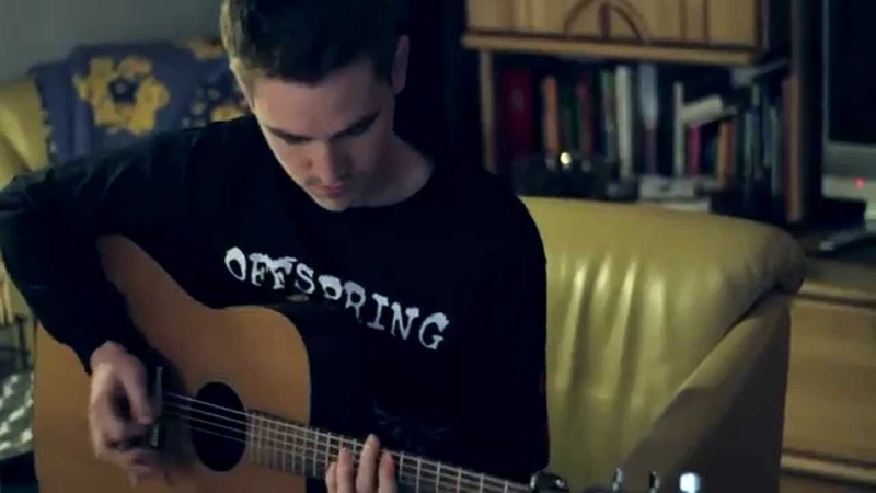 Golden Showers In The Golden State (Tom DeLonge Acoustic Cover by Marc Eichner)
