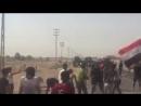 Стрельба по демонстрантам в районе Зубайр, г.Басра
