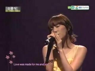 (SNSD) Taeyeon L.O.V.E @Jazz Concert