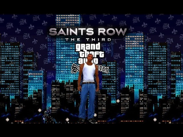 Saints Row: The Third (PC) - Creating C.J from GTA San Adreas - Gameplay