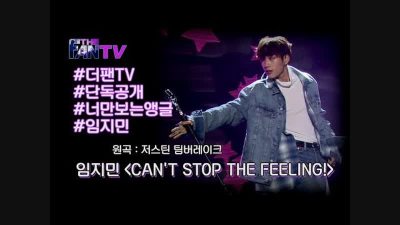 LIM JIMIN - Cant stop the feeling ( SBS THE FAN EP. 9 19.01.2019 )