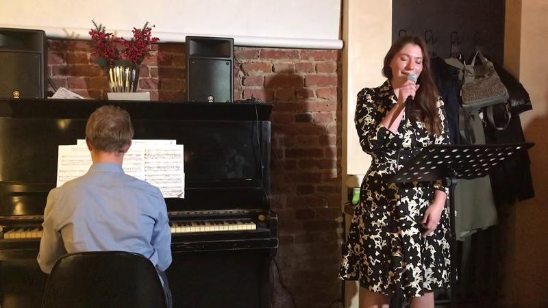 """Liza Bokova We walking in the air (from """"Snowman"""") Piano- Lev Shishkin"""