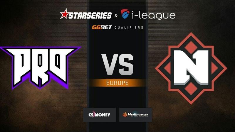 Nemiga vs pro100, map 1 dust2, StarSeries i-League S7 GG.Bet EU Qualifier