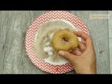 Сложно устоять! Пончики с яблоками - простой и быстрый рецепт вкусного десерта!