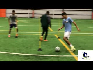 Top training drills with d1 college players _ conditioning _ ball mastery _ fini 1