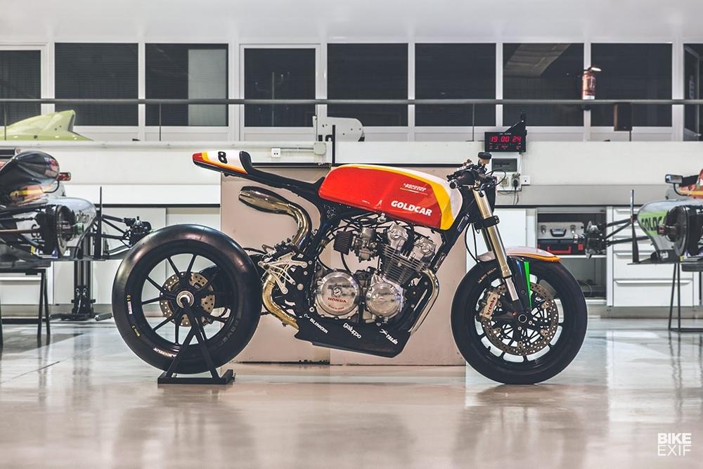 Bolt Motor Company: гоночный кафе рейсер Honda CB750F