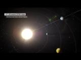 Затмение Луны, противостояние Марса