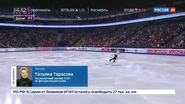 Новости на Россия 24 • Фигуристов отучат от четверных прыжков