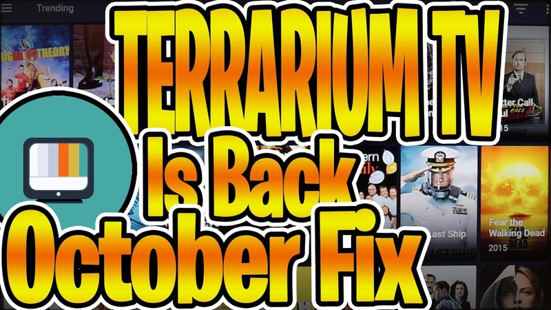New Terrarium Tv October Fix ( No Blockada Required) Download and Ready to Use!