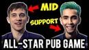 Sumail Support Arteezy Midlane Epic Comeback Allstar Pub