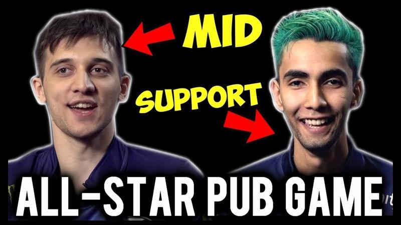 Sumail Support Arteezy Midlane - Epic Comeback Allstar Pub