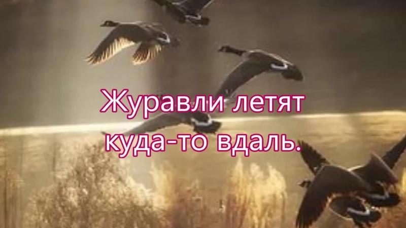 Над рекою слышен крик тоскливый - Бальжик Песня Небо Синее