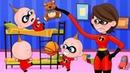 Gli Incredibili 2🔔 Le Avventure Di Jack Jack 🎅 Cartone Animato Per Bambini 43