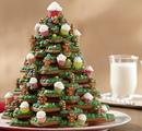 Новогодняя ёлочка из имбирного печенья своими руками
