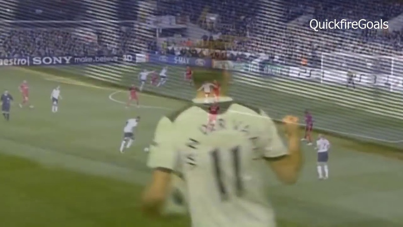 All 28 Rafael Van Der Vaart Goals for Tottenham Hotspur