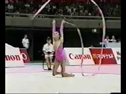 Алина Кабаева лента Aeon Cup 1998
