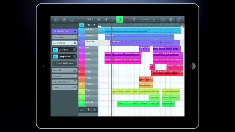 Steinberg Cubasis: Cubase for iPad