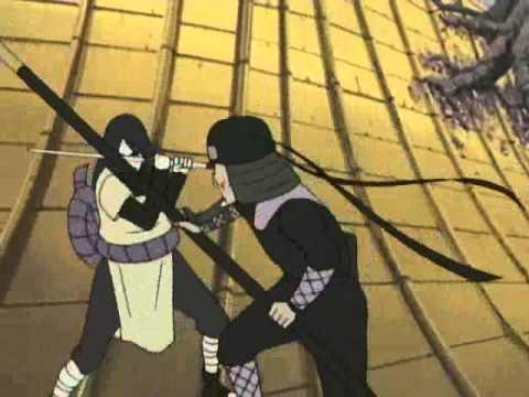 Orochimaru vs Hiruzen Sarutobi Sandaime Hokage