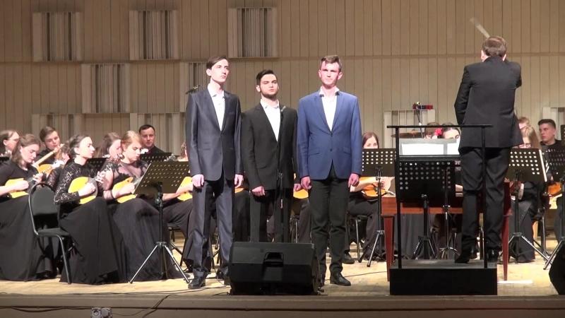 Отчётный концерт 2018 ВЕЧЕР НА РЕЙДЕ Исп. А.Сапегин, С.Балахчи, А.Пылаев