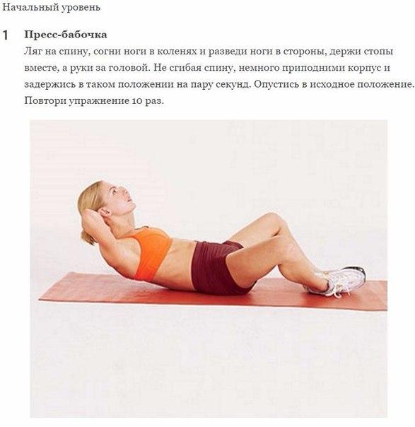 Как укрепить мышцы брюшного пресса: 8 упражнений для изумительной фигуры. Представляем вам экспресс-тренировку, которая поможет убрать живот за малейший срок. Всего 2 недели регулярных занятий и