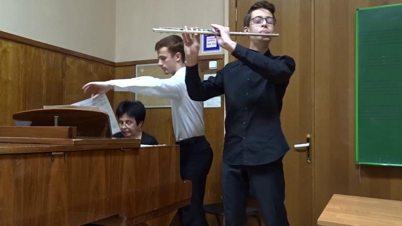 Pryadkin Vladislav - Lowell Liebermann - Sonata (1st movement)