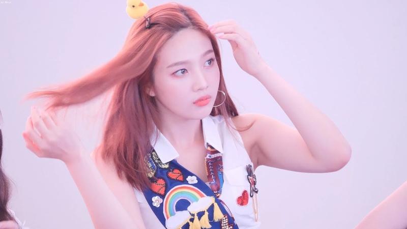 180818 레드벨벳 Red Velvet 팬사인회끝 마무리토크 및 퇴장 조이 Joy Focus 4K 직캠 Fancam 고양스타 545