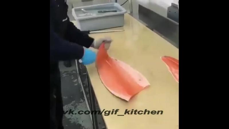 Быстро и просто разделываем рыбу