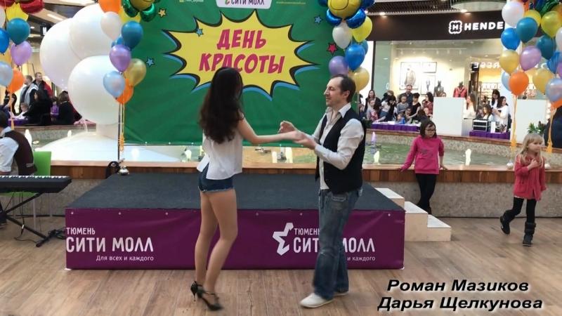Роман Мазиков и Дарья Grace Щелкунова / бачата импровизация / студия танца Delight / bachata